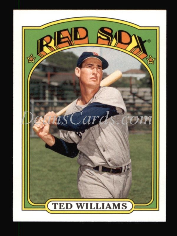 2013 Topps 1972 Minis #50  Ted Williams