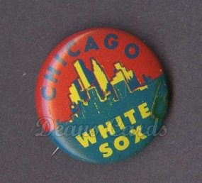 1965 Guys Potato Chip Pin #4   Chicago White Sox