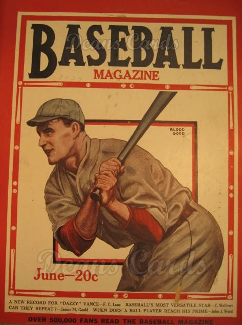 1929 Baseball Magazine    June