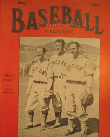 1939 Baseball Magazine    May