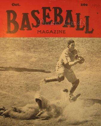 1942 Baseball Magazine    October