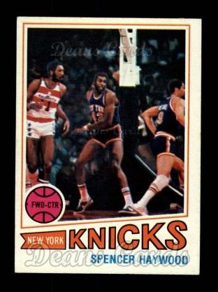 1977 Topps #88  Spencer Haywood