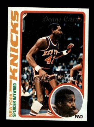 1978 Topps #107  Spencer Haywood