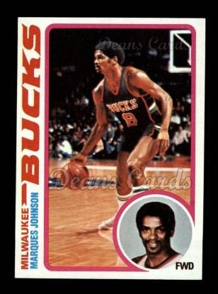 1978 Topps #126  Marques Johnson