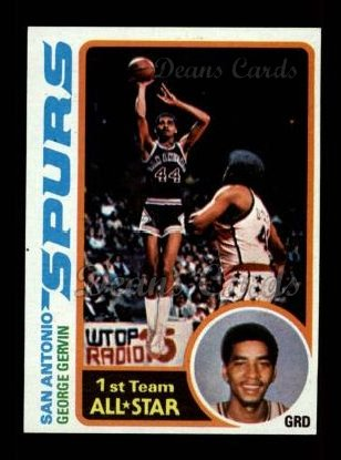 1978 Topps #20  George Gervin