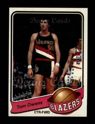 1979 Topps #102  Tom Owens