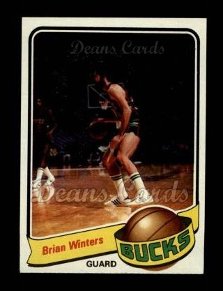 1979 Topps #21  Brian Winters