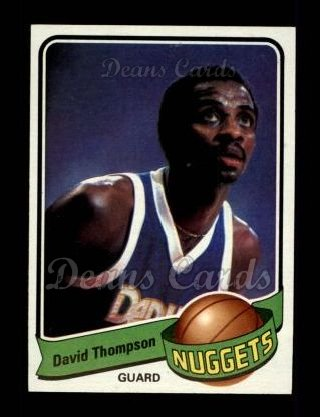 1979 Topps #50  David Thompson
