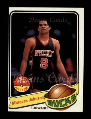1979 Topps #70  Marques Johnson