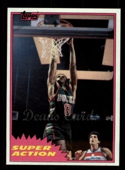 1981 Topps #108 MW  -  Marques Johnson Super Action