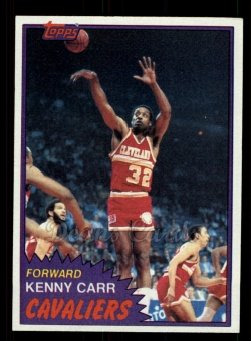 1981 Topps #72 MW Kenny Carr