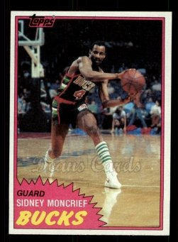 1981 Topps #99 MW Sidney Moncrief