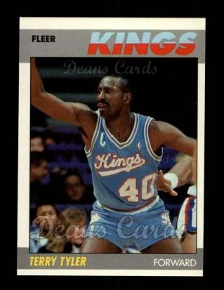 1987 Fleer #114  Terry Tyler