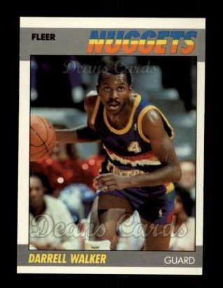 1987 Fleer #117  Darrell Walker
