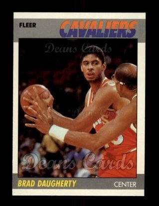 1987 Fleer #25  Brad Daugherty