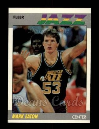 1987 Fleer #32  Mark Eaton