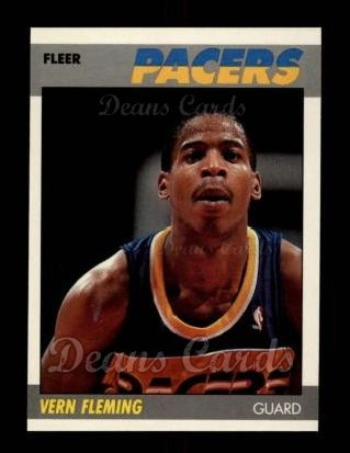1987 Fleer #38  Vern Fleming