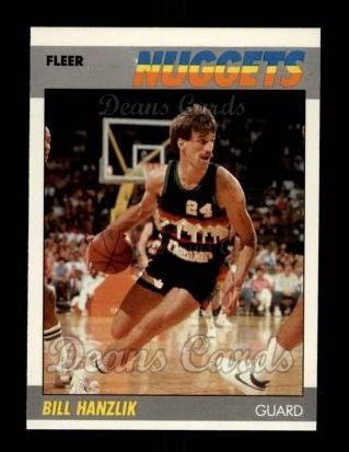 1987 Fleer #47  Bill Hanzlik