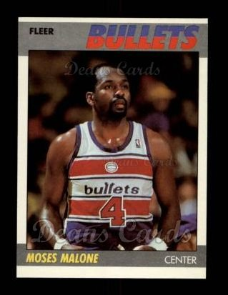 1987 Fleer #69  Moses Malone