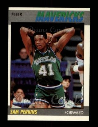 1987 Fleer #84  Sam Perkins