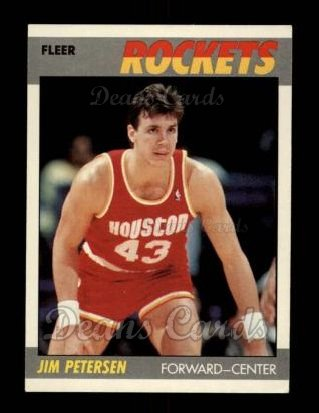 1987 Fleer #86  Jim Petersen