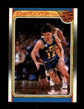 1988 Fleer #127   -  John Stockton All-Star