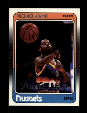 1988 Fleer #33  Michael Adams