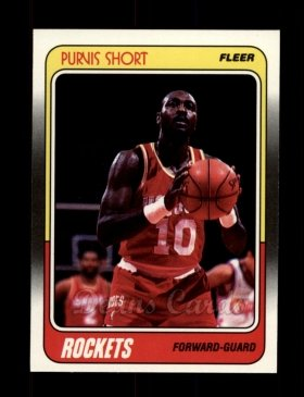 1988 Fleer #54  Purvis Short
