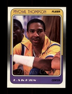 1988 Fleer #69  Mychal Thompson