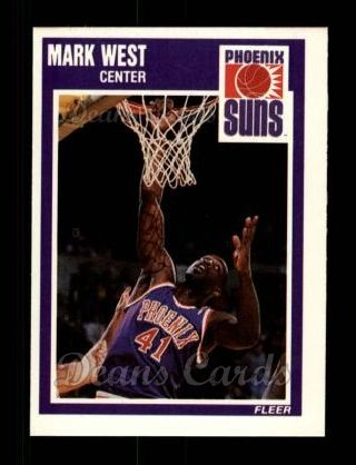 1989 Fleer #125  Mark West