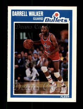 1989 Fleer #161  Darrell Walker