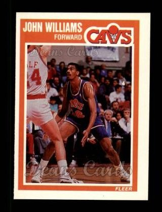 1989 Fleer #31 COR Hot Rod Williams