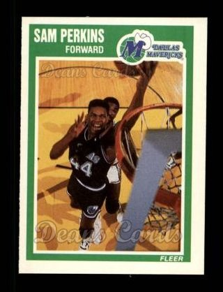 1989 Fleer #36  Sam Perkins