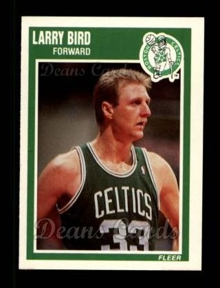 1989 Fleer #8  Larry Bird