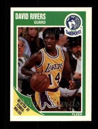 1989 Fleer #94  David Rivers