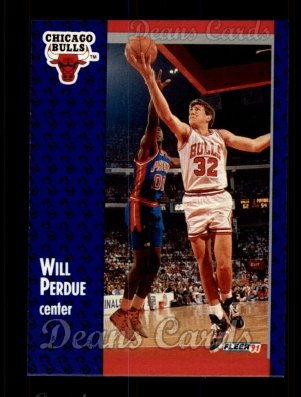 1991 Fleer #32  Will Perdue