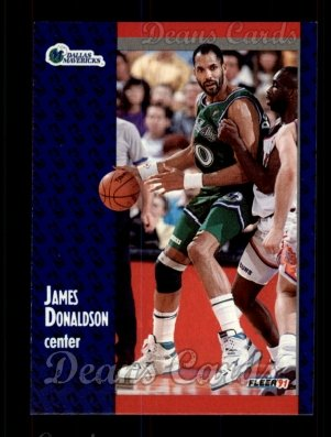 1991 Fleer #44  James Donaldson