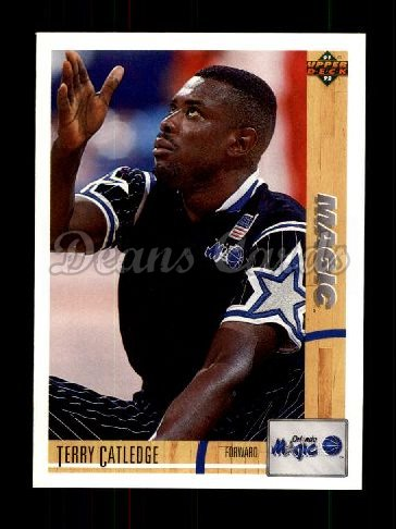 1991 Upper Deck #205  Terry Catledge