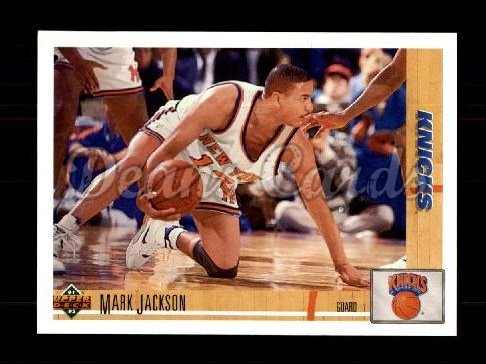 1991 Upper Deck #212  Mark Jackson