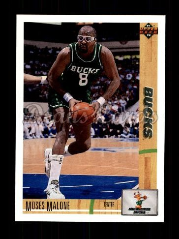 1991 Upper Deck #402  Moses Malone