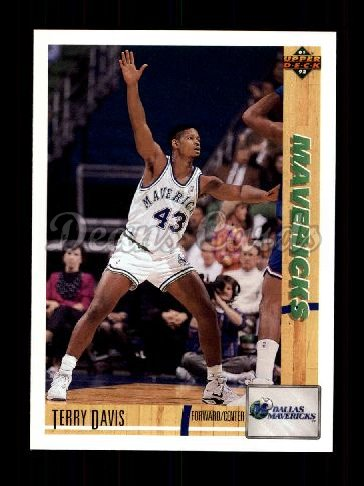 1991 Upper Deck #423  Terry Davis