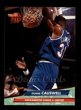 1992 Fleer Ultra #157  Duane Causwell