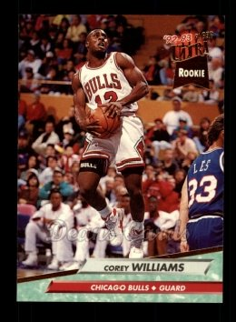 1992 Fleer Ultra #238  Corey Williams