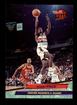 1992 Fleer Ultra #253  Robert Pack