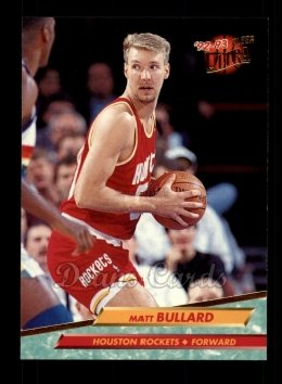 1992 Fleer Ultra #268  Matt Bullard