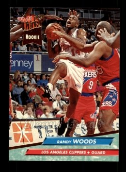 1992 Fleer Ultra #284  Randy Woods