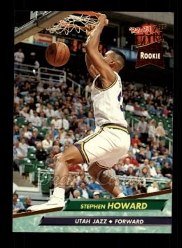 1992 Fleer Ultra #363  Stephen Howard