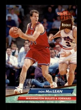 1992 Fleer Ultra #370  Don MacLean