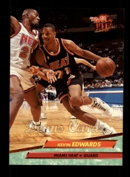 1992 Fleer Ultra #99  Kevin Edwards