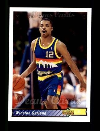 1992 Upper Deck #115  Winston Garland